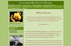 View Environmentally Sensitive Nursing Website